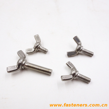 DIN318 Wing Screws With Edged Wings stainless steel