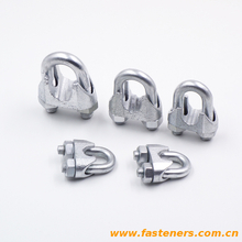 DIN741 Wire rope clamps for cable end connections