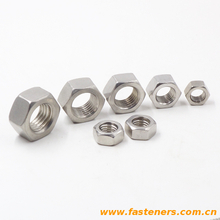 DIN934 Hexagon nut stainless steel 304,316,316L