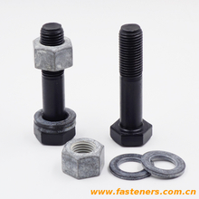 EN14399-4 High Strength Large Hexagon Bolts For Steel Structure