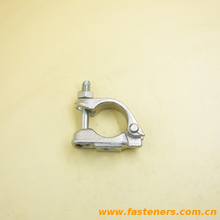 BS1139 EN74 British Type Scaffolding Clamp Drop Forging Single Swivel Coupler Bs Half Coupler
