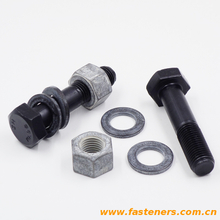 JIS B1186 High Strength Hexagon Bolts For Friction Grip Joints